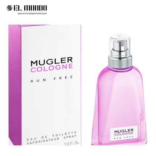 عطر ادکلن تیری موگلر کولون ران فری ادوتویلت ۱۰۰ میل Mugler Cologne Run Free