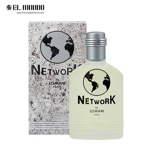 عطر ادکلن مردانه لومانی نتورک ادوتویلت ۱۰۰ میل Network Lomani for men