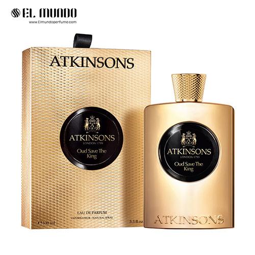 عطر ادکلن اتکینسونز-اتکینسون عود سیو د کینگ ادوپرفیوم ۱۰۰ میل Atkinsons Oud Save The King