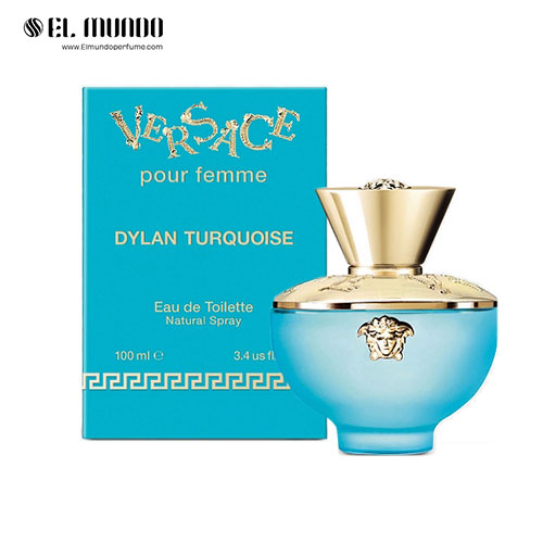 عطر ادکلن زنانه ورساچه پور فم دیلن تورکویز ادوتویلت ۱۰۰ میل Versace Pour Femme Dylan Turquoise