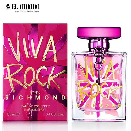 عطر ادکلن زنانه جان ریچموند ویوا راک ادوتویلت ۱۰۰ میل John Richmond Viva Rock