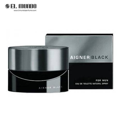 عطر و ادکلن مردانه اگنر بلک-مشکی ادوتویلت ۱۲۵ میل Aigner black