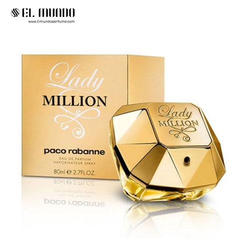 عطر ادکلن زنانه پاکو رابان لیدی میلیون ادوپرفیوم ۸۰ میل Lady Million Paco Rabanne