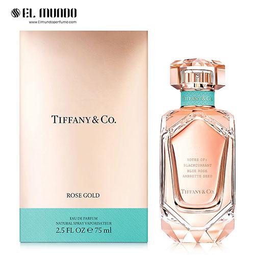عطر ادکلن زنانه تیفانی اند کو رز گلد ادوپرفیوم ۷۵ میل Tiffany & Co Rose Gold Tiffany