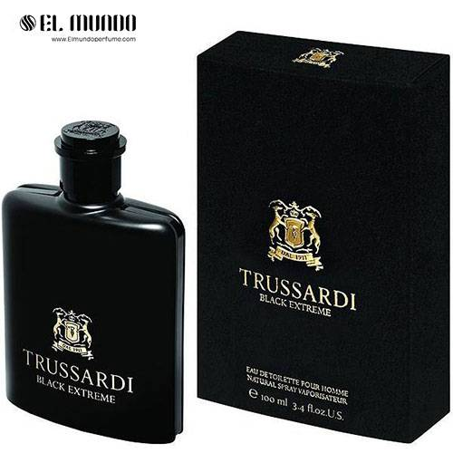 عطر ادکلن مردانه تروساردی بلک اکستریم ادوتویلت ۱۰۰ میل Trussardi Black Extreme