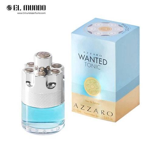 عطر ادکلن مردانه آزارو وانتد تونیک ادوتویلت ۱۰۰ میل Wanted Tonic Azzaro