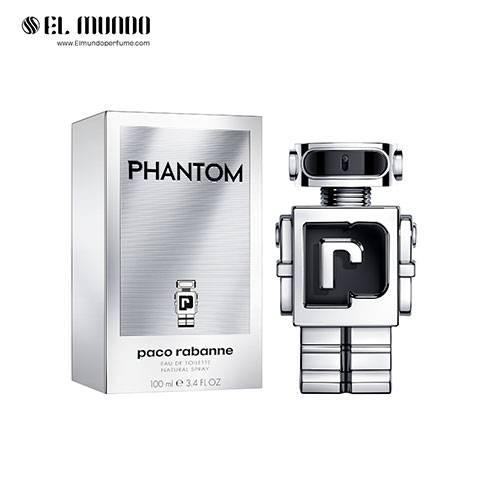 عطر ادکلن مردانه پاکو رابان فانتوم ادوتویلت ۱۰۰ میل Phantom Paco Rabanne