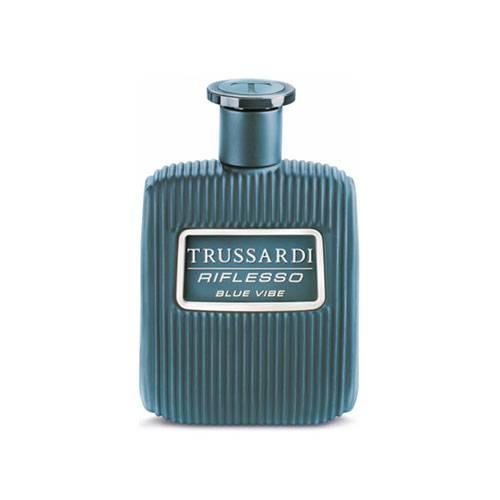 عطر و ادکلن مردانه تروساردی ریفلسو بلو وایب لیمیتد ادیشن ادوتویلت ۱۰۰ میل Riflesso Blue Vibe Limited Edition Trussardi