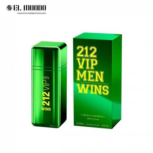 عطر و ادکلن مردانه کارولینا هررا کارولینا هررا ۲۱۲ وی آی پی وینز ادوپرفیوم ۱۰۰ میل ۲۱۲ VIP Men Wins Carolina Herrera