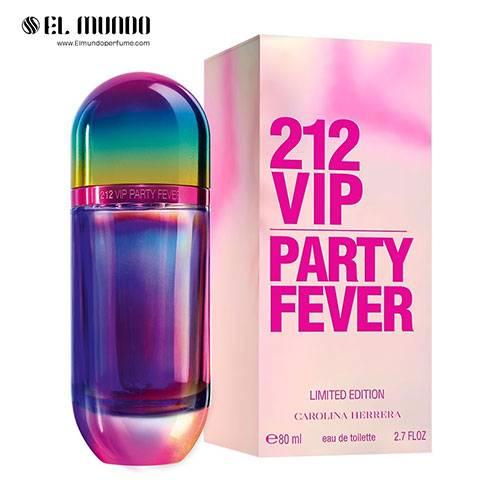 عطر و ادکلن کارولینا هررا کارولینا هررا ۲۱۲ وی آی پی پارتی فور ادوتویلت ۸۰ میل Carolina Herrera 212 VIP Party Fever