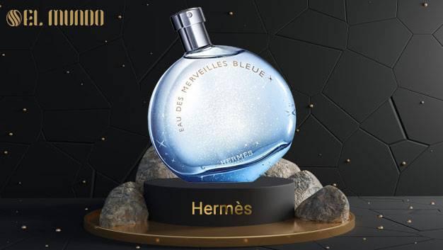 Eau des Merveilles Bleue Hermes for women 50ML 4 - عطر و ادکلن زنانه هرمس او دس مرویلس بلو ادوتویلت 100 میل Hermes Eau des Merveilles Bleue