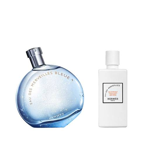 عطر و ادکلن زنانه هرمس او دس مرویلس بلو ادوتویلت ۱۰۰ میل Hermes Eau des Merveilles Bleue