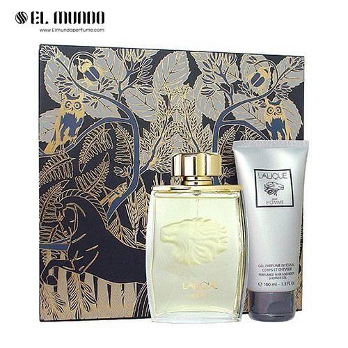 ست عطر ادکلن مردانه لالیک پورهوم لالیک شیر ادوپرفیوم ۱۲۵ میل Gift Set Lalique Pour Homme