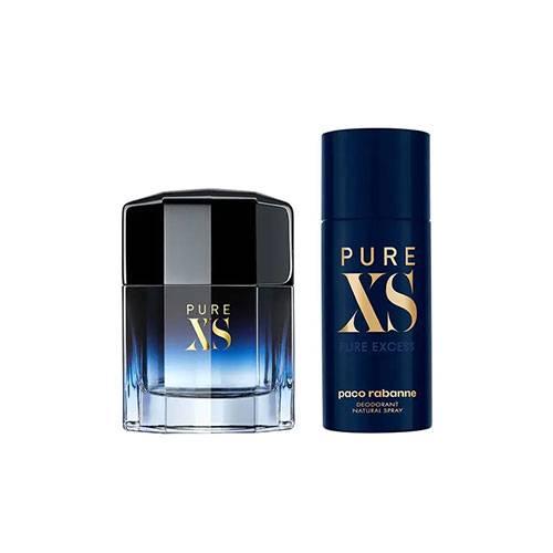 ست هدیه عطر ادکلن مردانه پاکو رابان پیور ایکس اس ادوتویلت ۱۰۰ میل Gift Set Pure XS Paco Rabanne