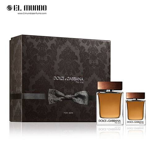 ست عطر ادکلن مردانه دولچه اند گابانا د وان ادوتویلت ۱۰۰ و ۴۰ میل Gift Set Dolce&Gabbana The One