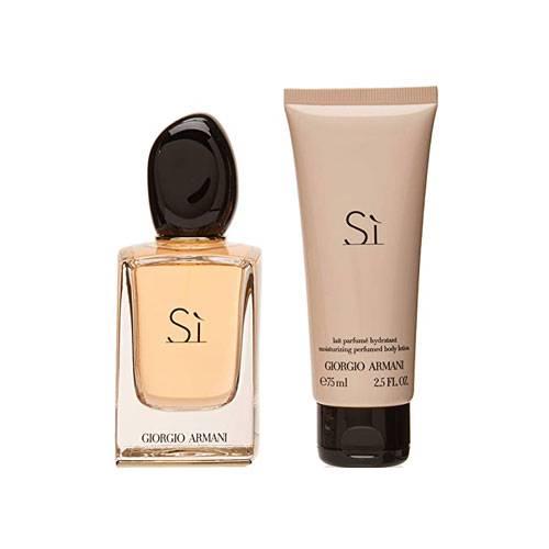 ست هدیه عطر ادکلن زنانه جورجیو آرمانی سی ادوپرفیوم ۱۰۰ میل Giorgio Armani SI Eau De Parfum Gift Set