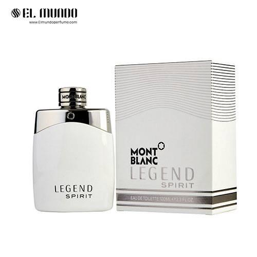 عطر و ادکلن مردانه مونت بلنک لجند اسپیریت ادوتویلت ۱۰۰ میل Mont Blanc Legend Spirit