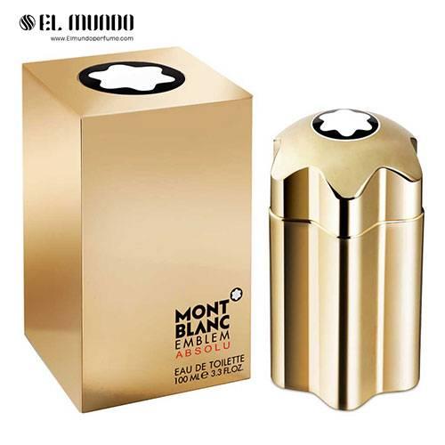 عطر ادکلن مردانه مونت بلنک امبلم ابسولو ادوتویلت ۱۰۰ میل Mont Blanc Emblem Absolu