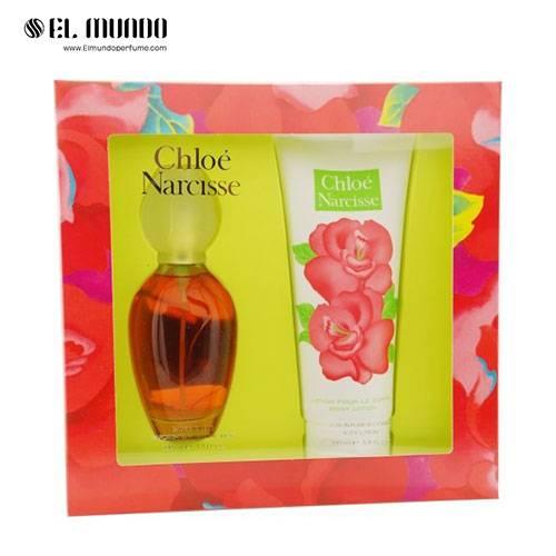 ست هدیه عطر ادکلن زنانه کلوهه نارسیس ادوتویلت ۱۰۰ میل NARCISSE by Chloe Perfume Gift Set