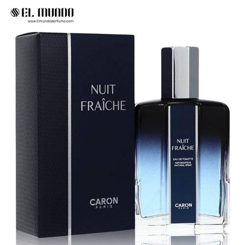عطر ادکلن مردانه کارون نویت فرش ادوتویلت ۷۵ میل Nuit Fraîche Caron