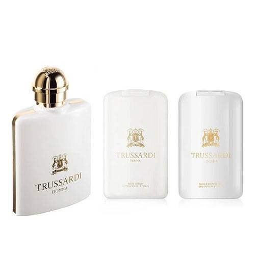ست هدیه عطر ادکلن زنانه تروساردی دونا ادوپرفیوم ۱۰۰میل Trussardi Donna (2011) Gift Set