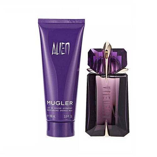 ست عطر ادکلن زنانه الین موگلر اصل ادوپرفیوم ۹۰ میل Gift Set Alien Mugler for women